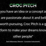 Croc Pitch Sam Pattemore